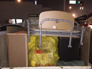 ベッド 家具 粗大ゴミ
