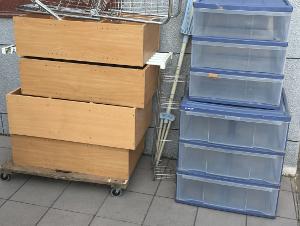春日市春日原北町で衣装ケース・物干・カラーBOXの回収処分