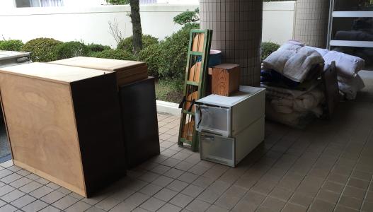 大野城市の廃品回収 - 家具 家財道具の処分