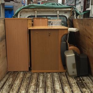 テレビ・学習机・タンスの処分>太宰府市の不用品回収ご相談例