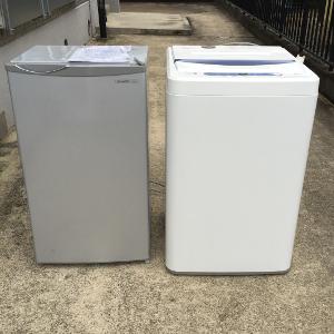 洗濯機・冷蔵庫の処分>小郡市の不用品回収のご相談例