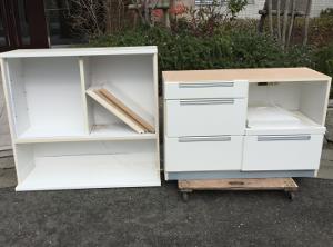 食器棚の処分>筑紫野市の不用品回収ご相談例