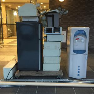 ウォーターサーバー・冷蔵庫・PCの処分>福岡市の不用品回収ご相談例