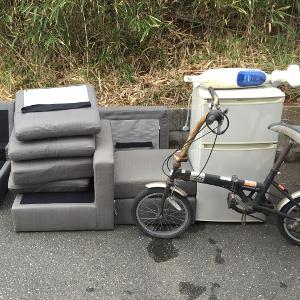 小郡市-ソファ・冷蔵庫・自転車・パソコンの回収処分