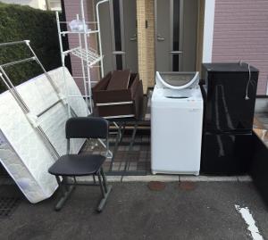 鳥栖市 - 洗濯機・ベッド・冷蔵庫の廃品回収