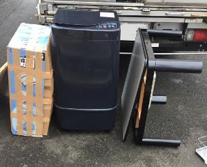 洗濯機・コタツの処分例 - 鳥栖市田代代官町