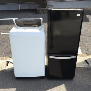 福岡市東区箱崎で冷蔵庫・洗濯機の引き取り