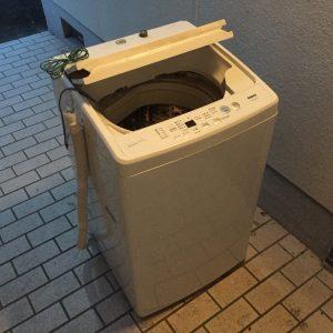 洗濯機の引き取り処分 - 福岡市城南区鳥飼