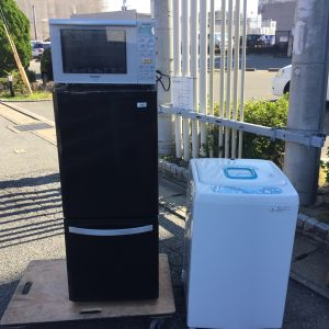 洗濯機・冷蔵庫・レンジの出張買取 - 糟屋郡粕屋町