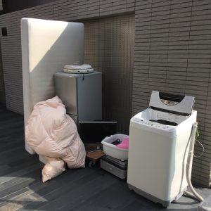 リサイクル家電・ベッド等の回収 - 福岡市中央区薬院