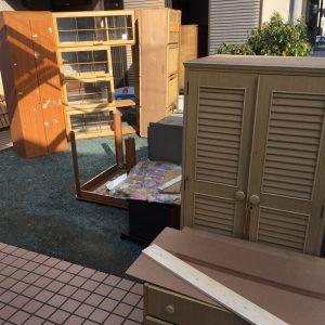 家具・粗大ゴミの処分片付け - 筑紫野市二日市南