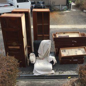 婚礼家具・タンスの処分 - 朝倉市