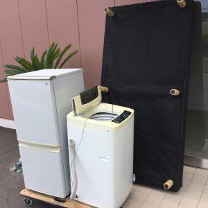 冷蔵庫・洗濯機・ベッドの処分 - 糸島市泊