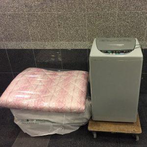 洗濯機・布団の処分 - 福岡市東区松島